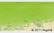 Physical 3D Map of Awlād Ḩāmid