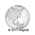 Outline Map of Panjiaqiao, rectangular outline