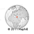 """Outline Map of the Area around 32° 8' 5"""" N, 32° 22' 30"""" E, rectangular outline"""