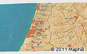 Satellite 3D Map of Or Yehuda