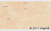 """Satellite 3D Map of the area around 32°8'5""""N,42°34'30""""E"""