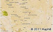 "Satellite Map of the area around 32°8'5""N,45°58'30""E"