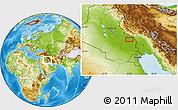 Physical Location Map of Sayyid `Āqūl