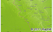 """Physical Map of the area around 32°8'5""""N,47°40'29""""E"""