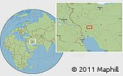 Savanna Style Location Map of Āb Chahrū