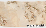 """Satellite 3D Map of the area around 32°8'5""""N,55°19'30""""E"""