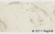 """Shaded Relief 3D Map of the area around 32°8'5""""N,55°19'30""""E"""