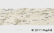Shaded Relief Panoramic Map of Chaman