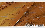 Physical 3D Map of Shūr Āb
