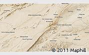 Satellite 3D Map of Qalāt