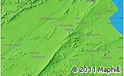 Political Map of Qalāt