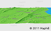 Political Panoramic Map of Qalāt