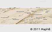 Satellite Panoramic Map of Qalāt