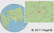 "Savanna Style Location Map of the area around 32°8'5""N,71°28'29""E"