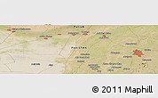 Satellite Panoramic Map of Sargodha