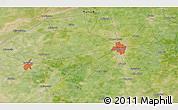 Satellite 3D Map of Gujrānwāla