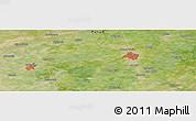 Satellite Panoramic Map of Gujrānwāla