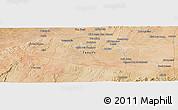Satellite Panoramic Map of Chouihat