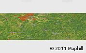 "Satellite Panoramic Map of the area around 32°8'5""N,90°1'30""W"
