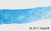 """Physical Panoramic Map of the area around 32°36'26""""N,10°7'30""""W"""