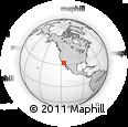 Outline Map of Salón Del Reino De Los Testigos De Jehová, rectangular outline