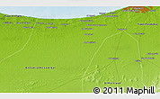 Physical 3D Map of Al Māyah