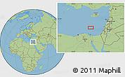 "Savanna Style Location Map of the area around 32°36'26""N,32°22'30""E"