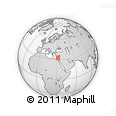 """Outline Map of the Area around 32° 36' 26"""" N, 32° 22' 30"""" E, rectangular outline"""