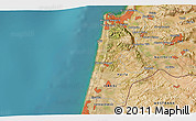 Satellite 3D Map of Haifa
