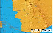 Political Map of Bayt Musallam `Ubayd