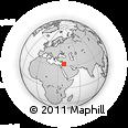 Outline Map of Al Fayḑah, rectangular outline