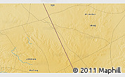 """Physical 3D Map of the area around 32°36'26""""N,39°10'29""""E"""