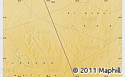 """Physical Map of the area around 32°36'26""""N,39°10'29""""E"""