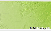 """Physical 3D Map of the area around 32°36'26""""N,42°34'30""""E"""