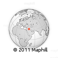 """Outline Map of the Area around 32° 36' 26"""" N, 42° 34' 30"""" E, rectangular outline"""