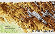 Physical 3D Map of Amīr ol Momenīn