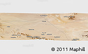 Satellite Panoramic Map of Mazra`eh-ye Now