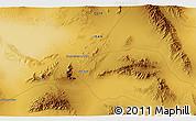 Physical 3D Map of Rīzāb