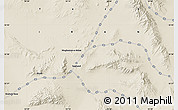 "Shaded Relief Map of the area around 32° 36' 26"" N, 55° 19' 30"" E"