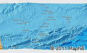 Political 3D Map of Midelt
