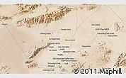 Satellite 3D Map of Farāh