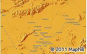 Political Map of Farāh