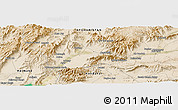 Satellite Panoramic Map of Tarīn Kowt