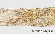 Satellite Panoramic Map of `Abdollāhjān Kalay