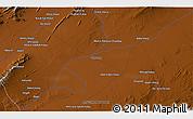 Physical 3D Map of Mīnā Kheyl
