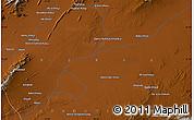 Physical Map of Mīnā Kheyl