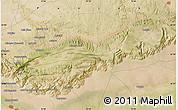 "Satellite Map of the area around 32°36'26""N,72°19'29""E"