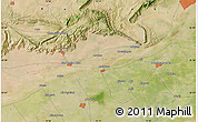 "Satellite Map of the area around 32°36'26""N,73°10'30""E"