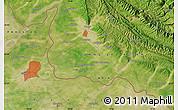 Satellite Map of Jammu