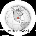 Outline Map of 244 B P 438, rectangular outline
